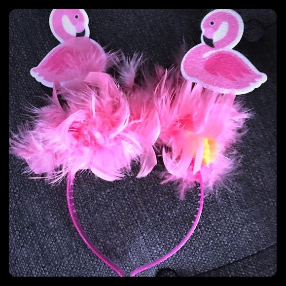 9a9b07acca2ac Flamingo birthday headbands set of 6 with bonus NWT